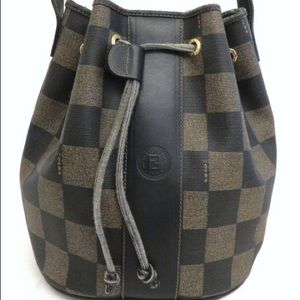 Fendi Bucket Monogram bag